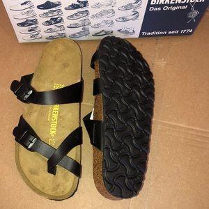 Birkenstock Shoes - Birkenstock Mayari Sandals Black